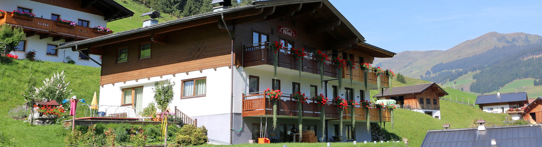 Appartements in Hinterglemm